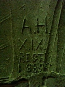 Graffiti in Egypt - early blogging?